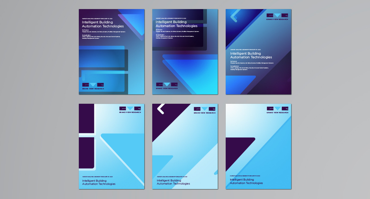 Grand View Research Report Cover Designs