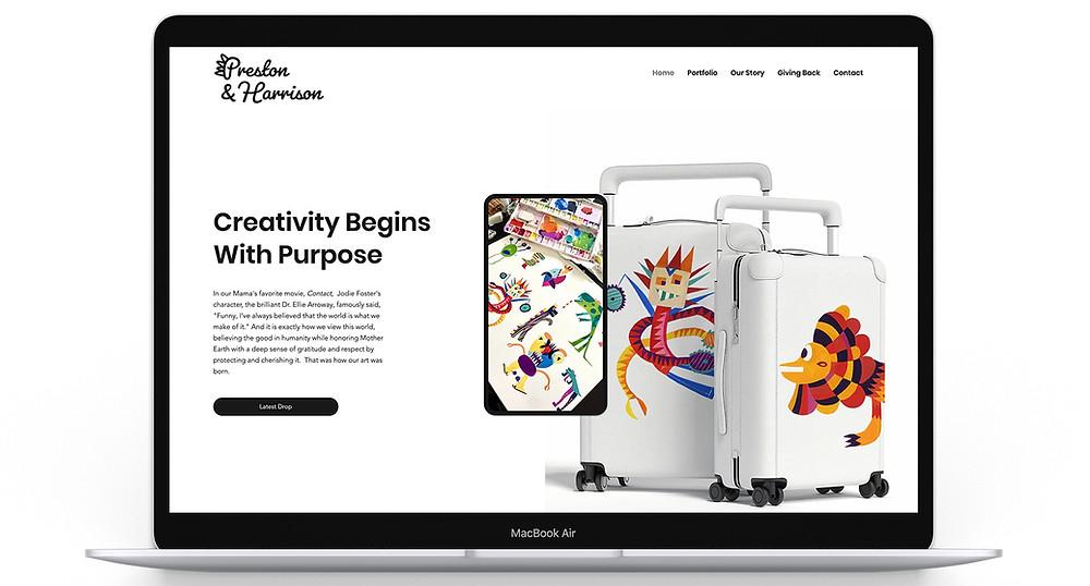 Preston and Harrison's Website