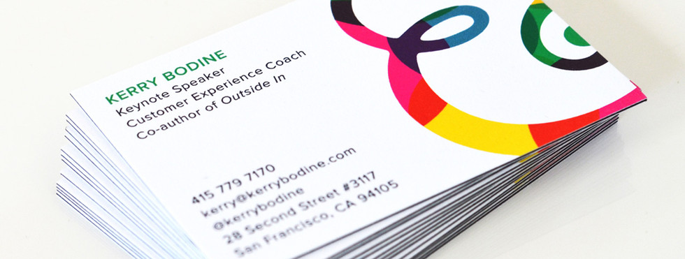 Kerry Bodine & Co. Business Cards