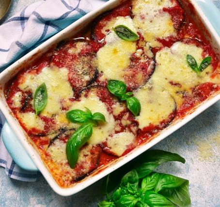 Recept: Melanzane alla parmigiana
