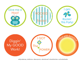 """70+ Executive Function """"I DID IT!"""" Motivation Badges FREE #BrainLiteracy, #SEL & #D"""