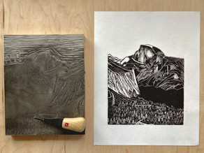 Make 100: Yosemite Views Block Prints