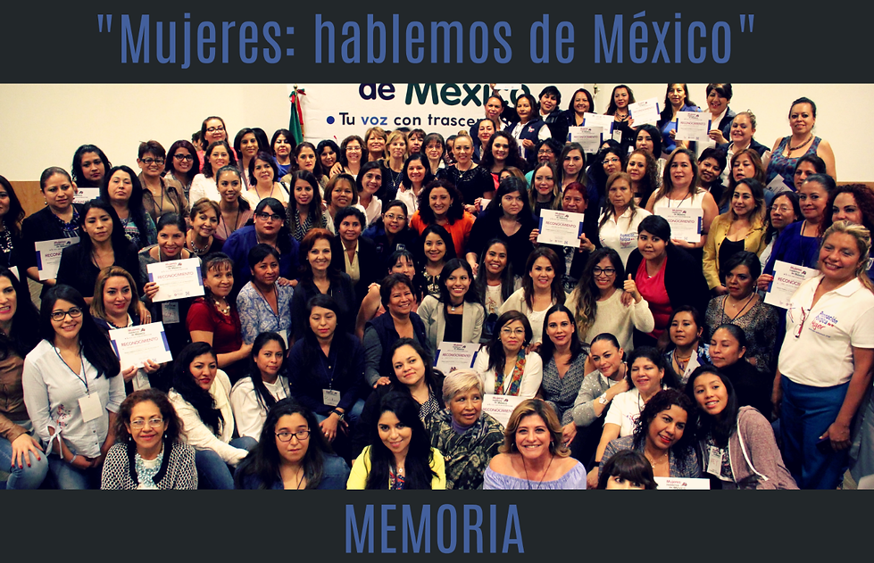 Mujeres con Marcela Torres Peimbert