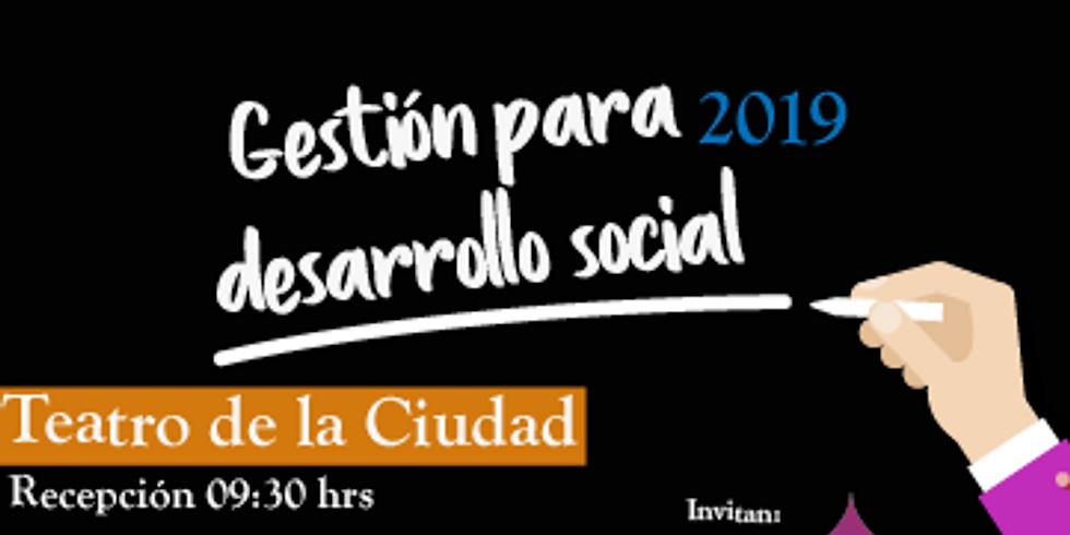 Gestión para desarrollo social 2019