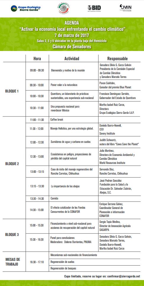 Agenda verde Marcela Torres