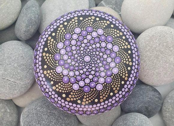 Violette D'Or Pierre Mandala