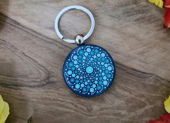 Porte-clés turquoise