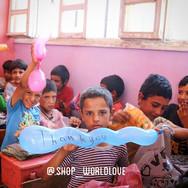 Avec les orphelins de Syrie