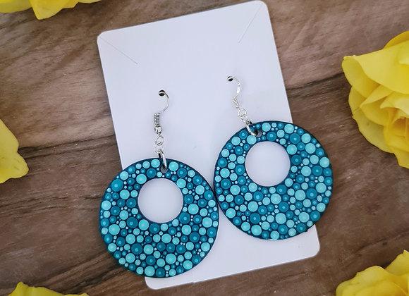 Turquoise Boucles d'oreilles