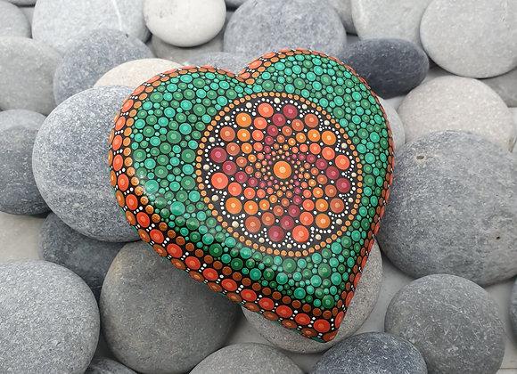 Coeur Pierre Mandala