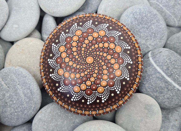 Marron Pierre Mandala