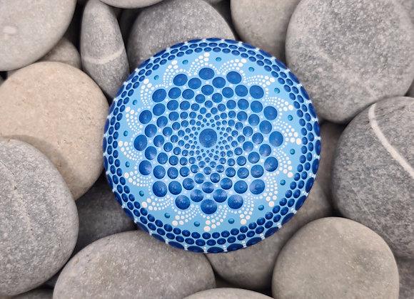 Bleu Pierre Mandala