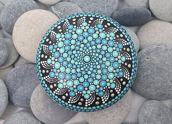 Turquoise Pierre Mandala