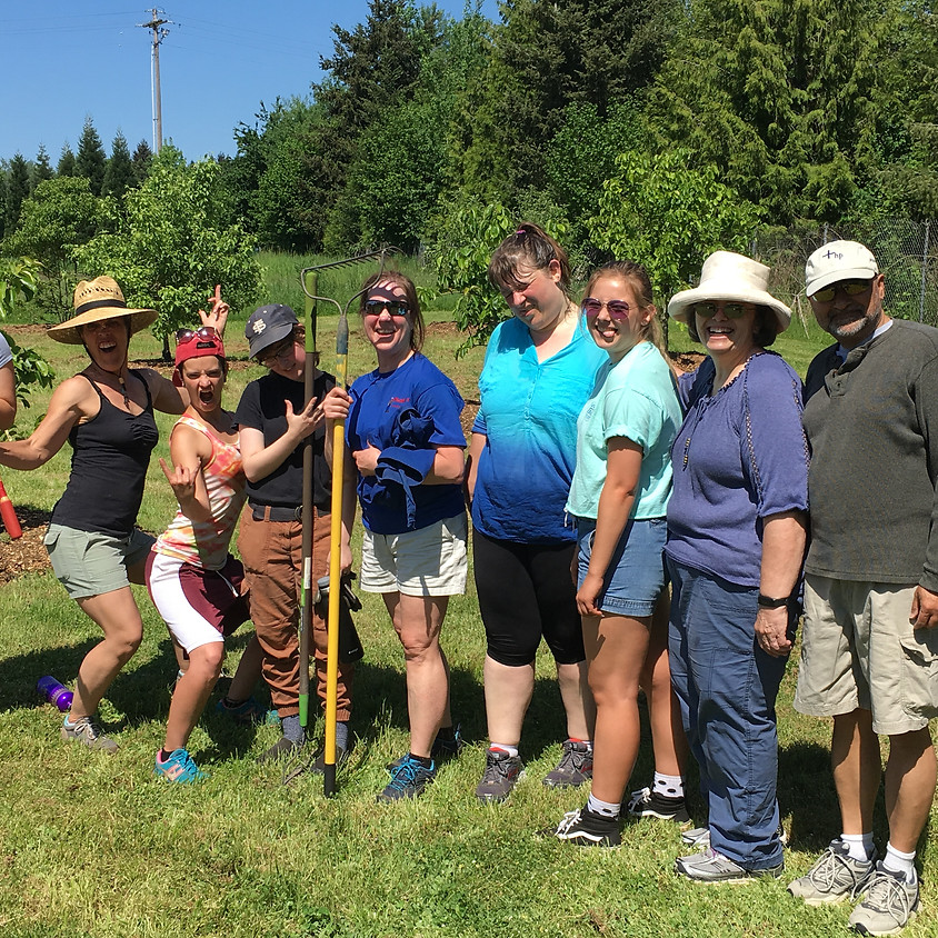Community Garden Work Party at Healthy Homeland
