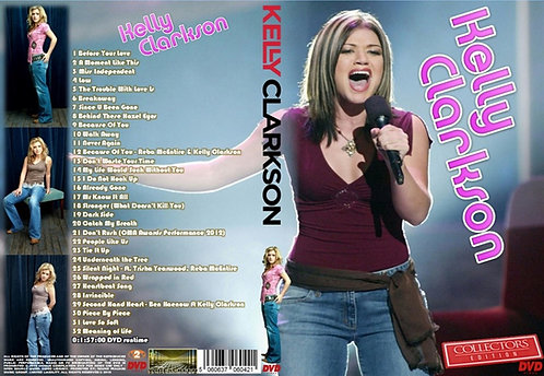 Kelly Clarkson Music Video DVD ~ Collector's Edition