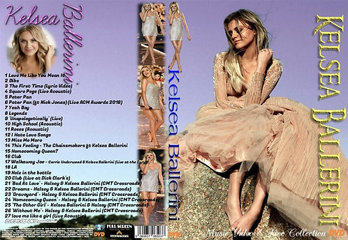 Kelsea Ballerini Music Video DVD