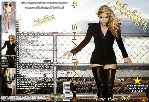 Shakira Music Video DVD