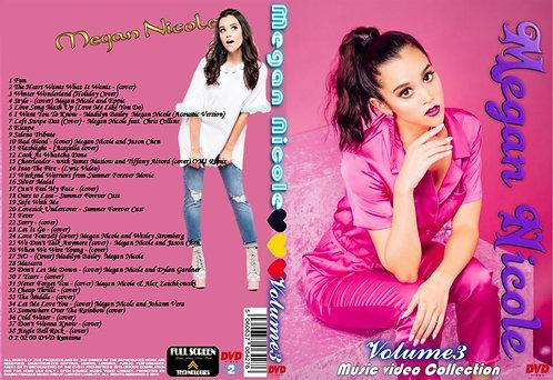 Megan Nicole Music Video DVD Volume3