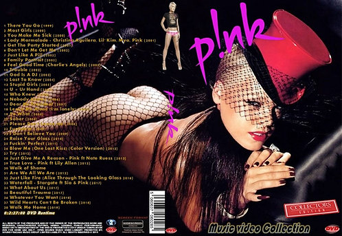 Pink Music Video DVD