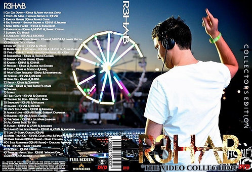 R3HAB Music Video Collection DVD ~ Collector's Edition