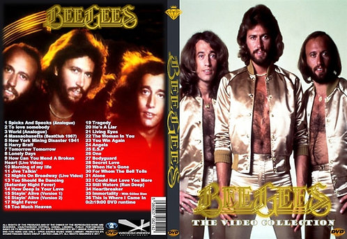 Bee Gees Music Video DVD