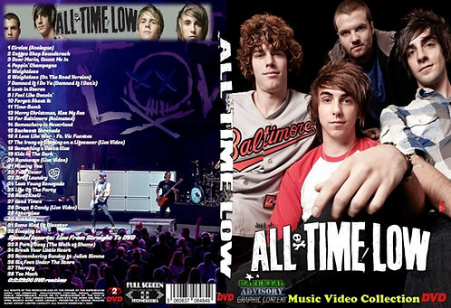 All Time Low Music Video DVD