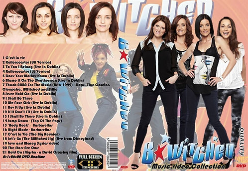 B*Witched Music Video DVD