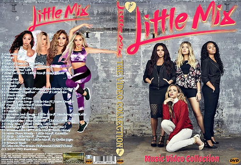 Little Mix Music Video DVD