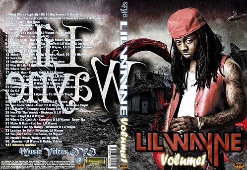 Lil Wayne Music Video Collection DVD Volume1