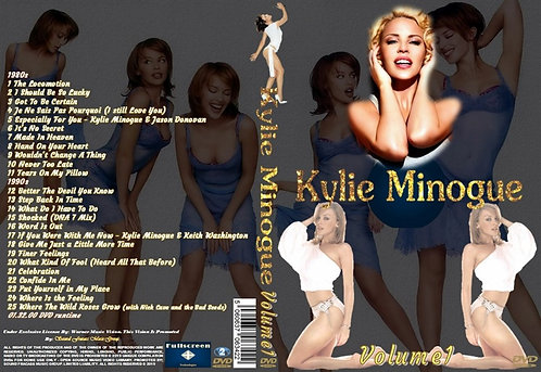 Kylie Minogue Music Video DVD – Volume1