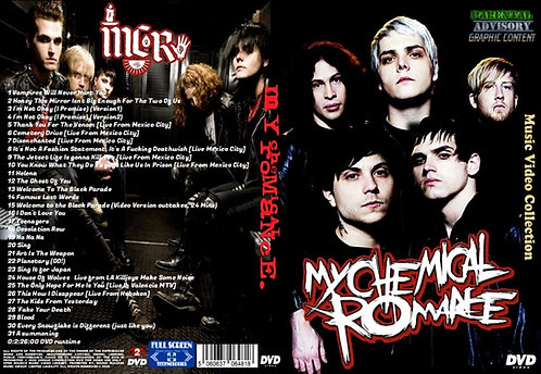 My Chemical Romance Music Video DVD