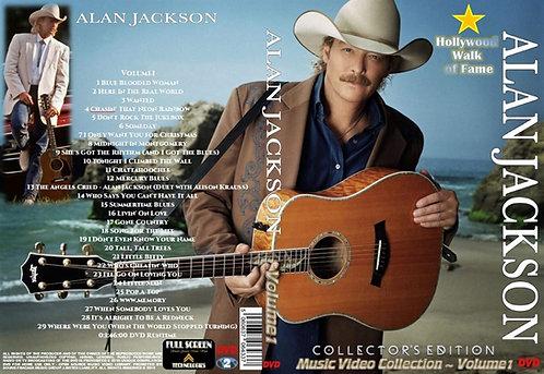 Alan Jackson Music Video DVD Volume1 Collector's Edition