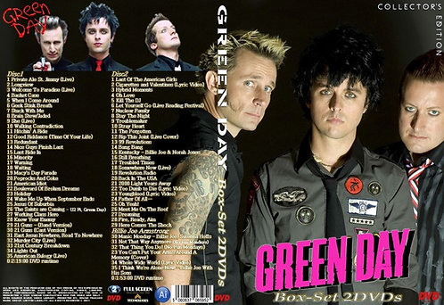 Green Day Music Video Box-set 2DVD