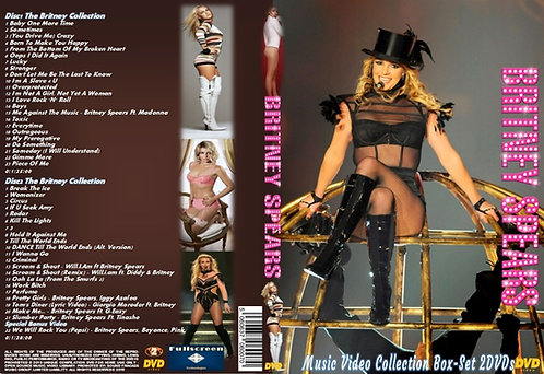 Britney Spears Music Video Box-Set 2DVDs