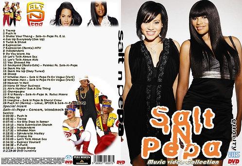 Salt-N-Pepa  Music Video DVD