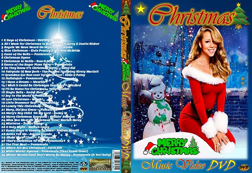 Christmas Music Video DVD – All New Compilation - Widescreen