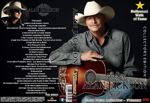Alan Jackson Music Video DVD Volume2 Collector's Edition