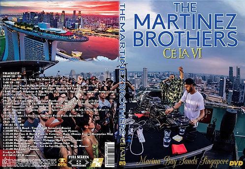 The Martinez Brothers at CÉ LA VI DVD