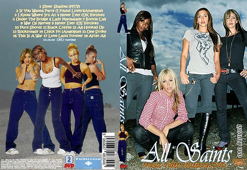 All Saints Music Video DVD