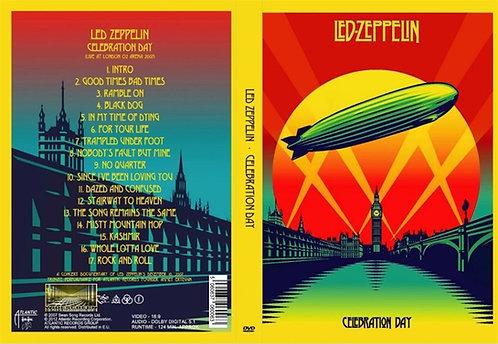 Led Zeppelin Celebration Day Concert DVD