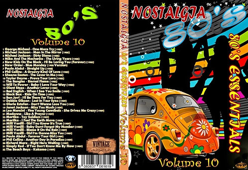 Nostalgia V10 80s Essentials Music Video DVD