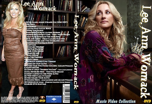 Lee Ann Womack Music Video DVD