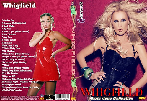 Whigfield Music Video Collection DVD
