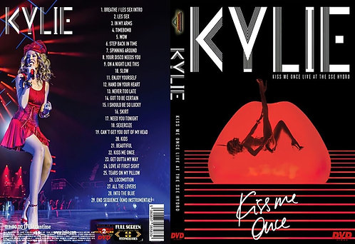 Kylie Minogue - Kiss Me Once Tour DVD