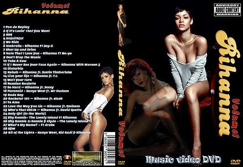 Rihanna Music Video DVD Volume1