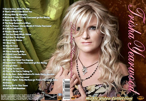Trisha Yearwood Music Video DVD