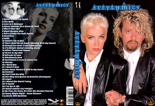 Eurythmics Music Video DVD - Essential Collection