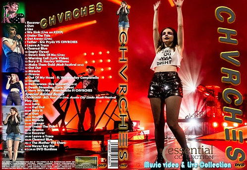 Chvrches Music Video Collection DVD