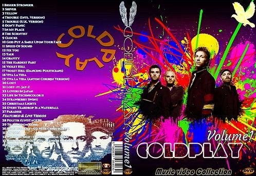 Coldplay Music Video DVD Volume1