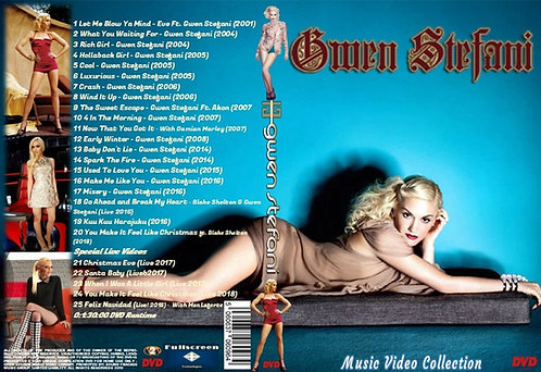 Gwen Stefani Music Video DVD
